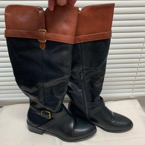 Rampage Boots, Size 8, Black & Brown